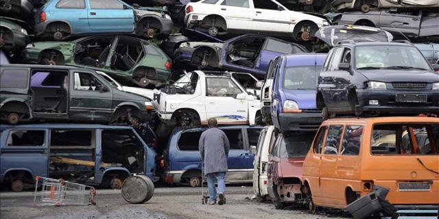 Els vehicles de Madrid són els que més es destinen al desballestament